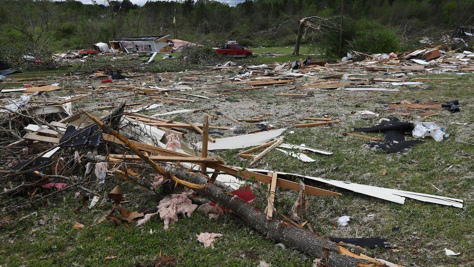 Tornado verwüstet US-Staaten