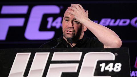 Wollte zunächst nicht einmal den Spielbetrieb aussetzen wegen Corona:Dana White, Chef der Ultimate-Fighting-Championship (UFC)