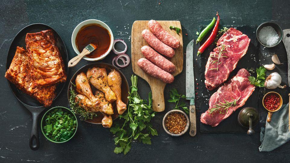 Grillfleisch in allen Variationen
