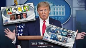 US-Präsident Donald Trump will die Wirtschaft der USA schnellstmöglich wieder in Gang bringen.