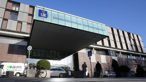 UKE Hamburg Corona-Infizierte auf Krebsstation