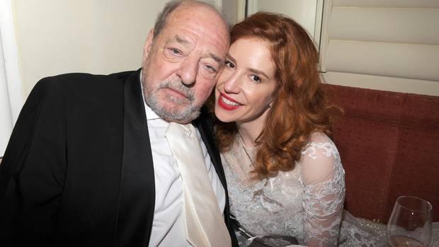 Ralph Siegel und seine dritte Frau Laura Käfer