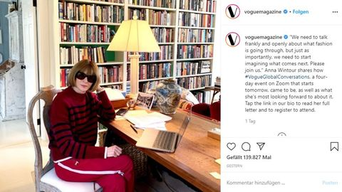 Vogue-Chefin Anna Wintour