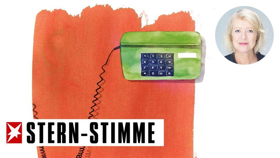 Das Telefon wird in der Krise wird es geschätzt wie lange nicht mehr
