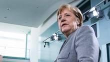 Angela Merkel bei Corona-Pressekonferenz in Berlin