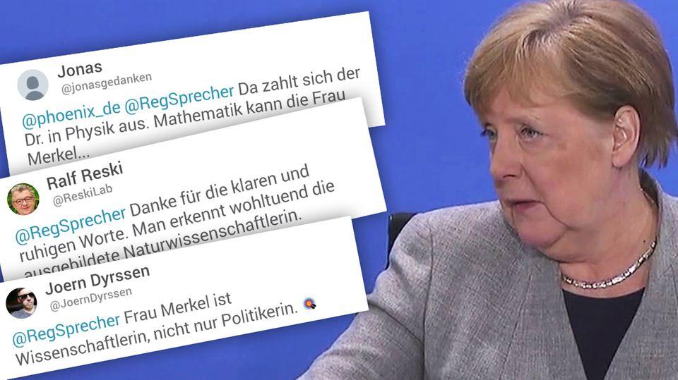 Angela Merkel erklärt, warum es wichtig ist, bei der Lockerung der Corona-Beschränkungen nicht vorschnell zu handeln.