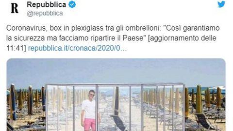 Urlaub in Zeiten von Corona: Plexiglas-Boxen und Maskenpflicht am Strand: Wie der Sommer in Italien aussehen könnte