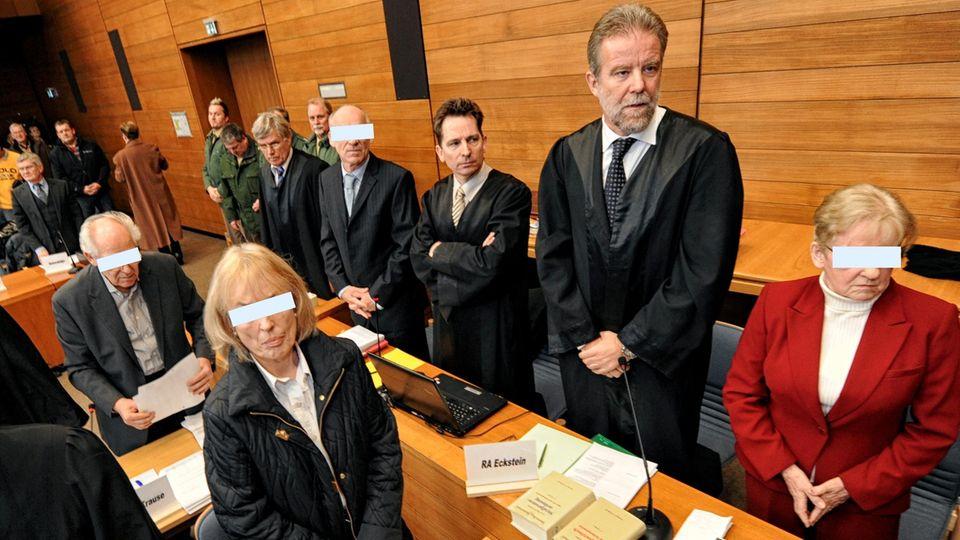 Rentner vor Gericht