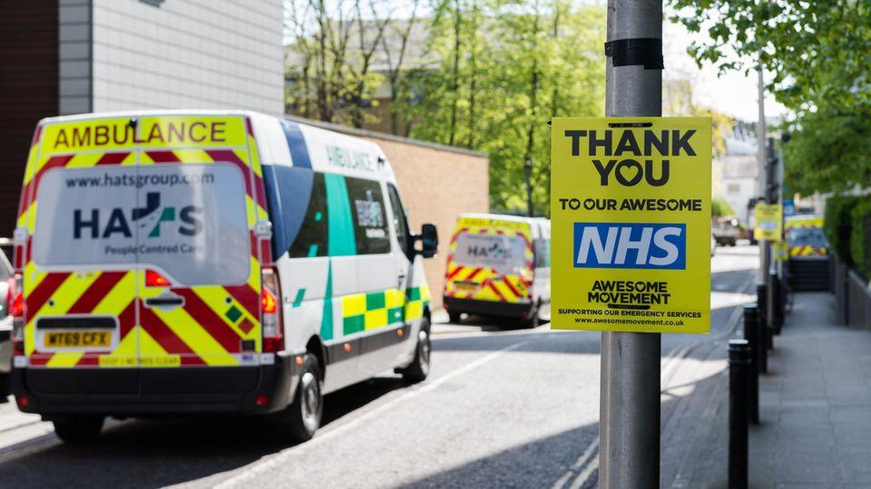 Ein Krankenwagen in London (Symbolfoto)