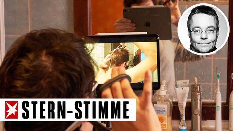Frischluft-Kolumne - Michael Streck träumt vom Friseur