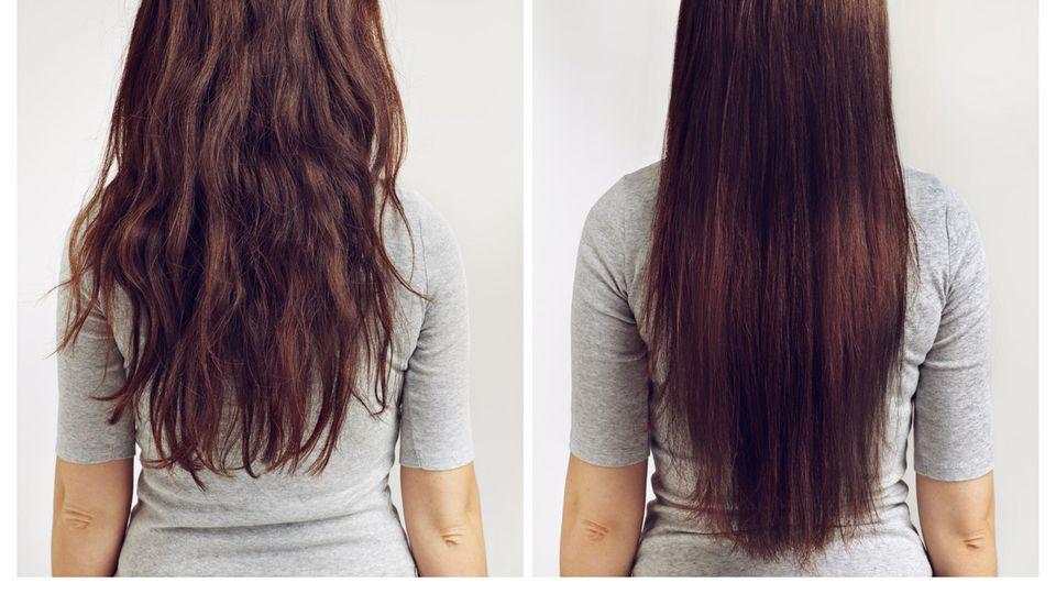 Viele Frauen leiden unter krausem Haar