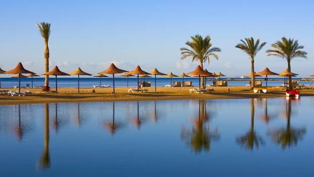 Am Strand vonHurghada