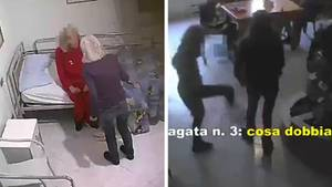 Italien: In einem Altersheim in Palermo wurden die Bewohner misshandelt.