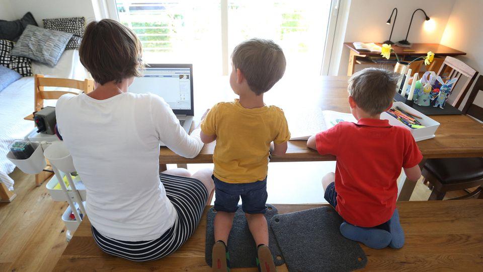 Homeoffice mit kleinen Kindern