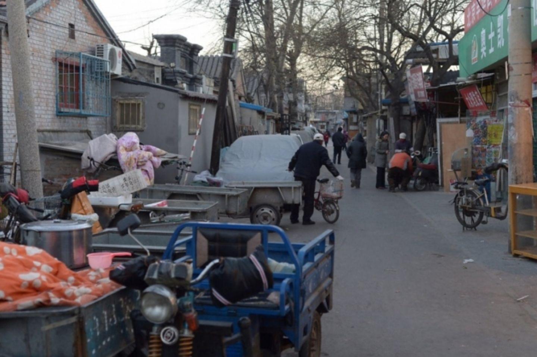 Hutongs von Peking