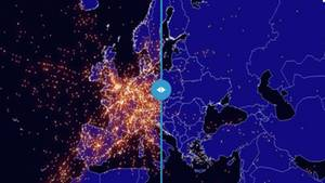 Flugradar zeigt dramatische Auswirkungen des Coronaviurs auf den europäischen Flugverkehr