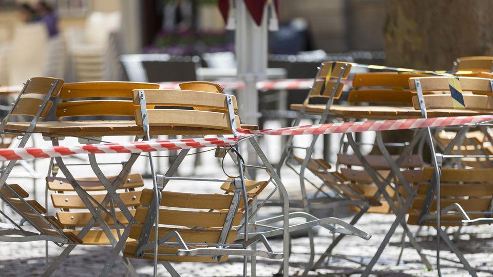 Restaurants, Cafés und Bars bleiben geschlossen.