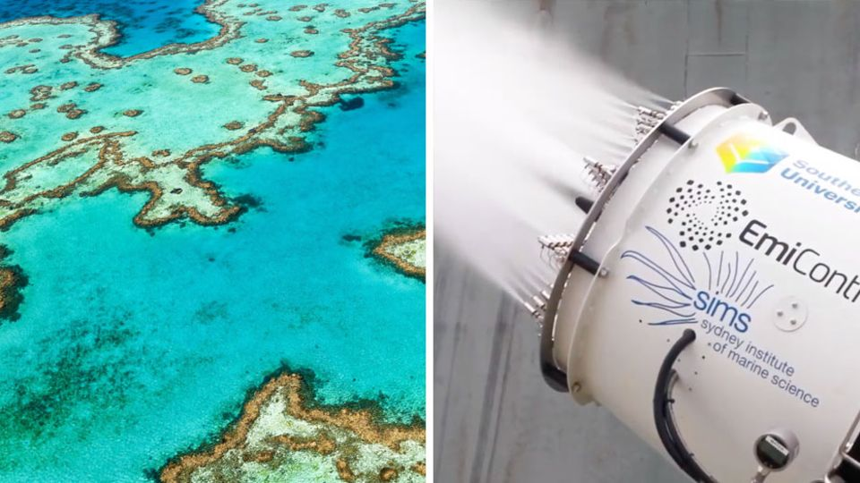 """Cloud-Brightening"" – kann diese neue Technik das Great Barrier Reef retten?"