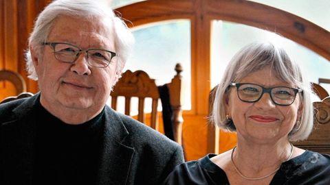 Eva-Maria Schmitz mit ihrem Mann