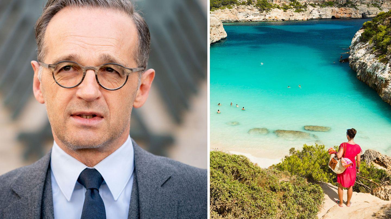 """Hat einer """"normalen Urlaubssaison"""" eine Absage erteilt: Bundesaußenminister Heiko Maas"""