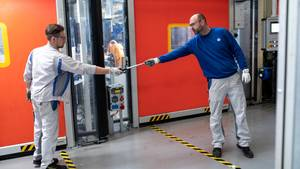 Produktion im VW-Werk Kassel