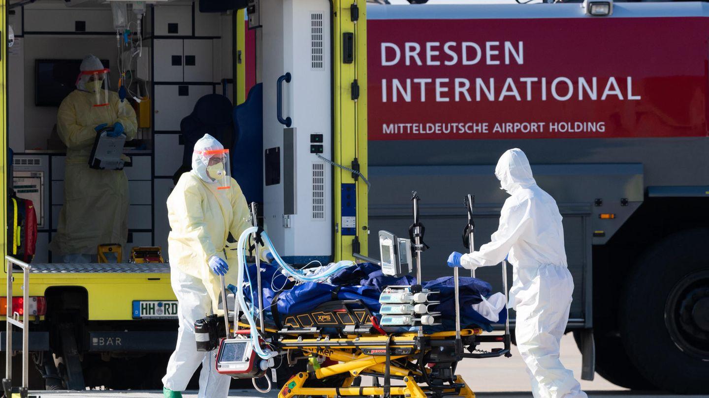 Auch in Deutschland sind die Rettungskräfte mit Covid-19 beschäftigt