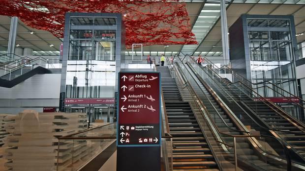 Soll Ende Oktober 2020 betriebsbereit sein: Terminal 1 am Hauptstadtflughafen BER