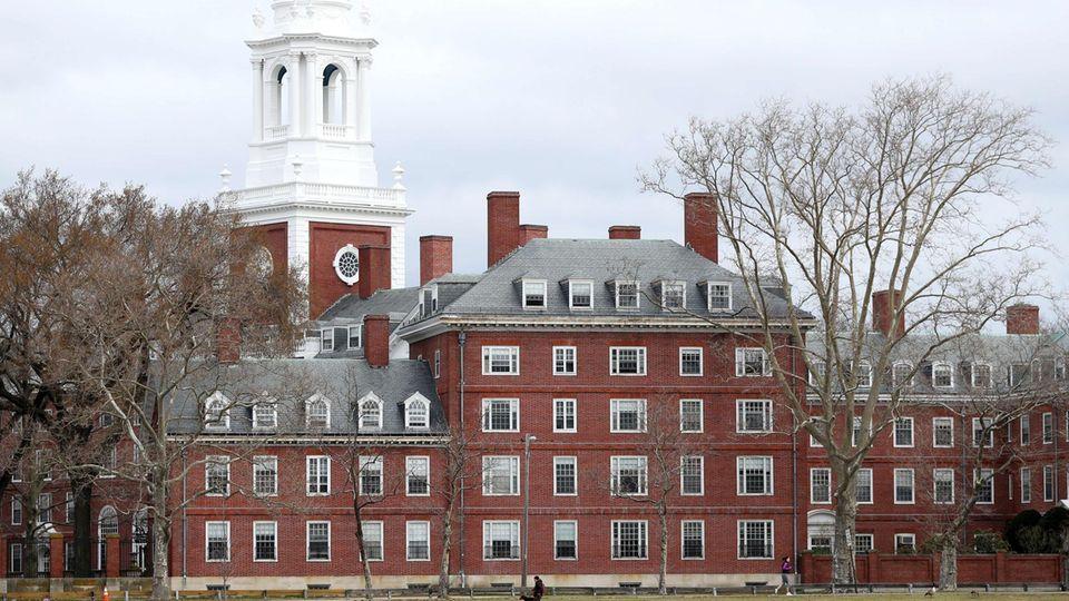 Die Harvard Universityin Cambridge, im US-Bundesstaat Massachusetts gilt als reichste Hochschule der Welt