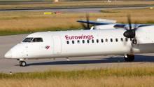 Die 15 Turbopropflugzeuge der Luftfahrtgesellschaft Walter (LGW) vomTyp De Havilland Dash waren für Eurowings bis vor Kurzem im Einsatz