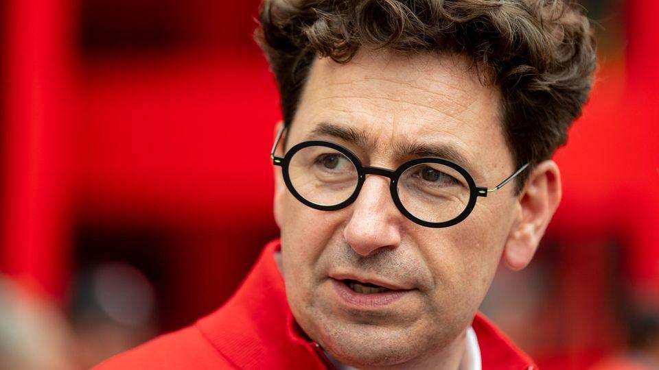 Chef des Ferarri-Teams der Formel 1: Mattia Binotto