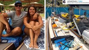 Paar überquert Atlantik – und erfährt erst bei seiner Ankunft von der Corona-Pandemie