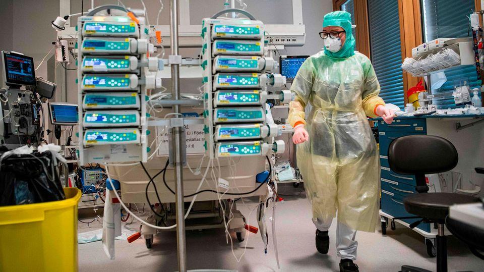 Schutzkittel für Krankenhäuser werden weltweit knapp