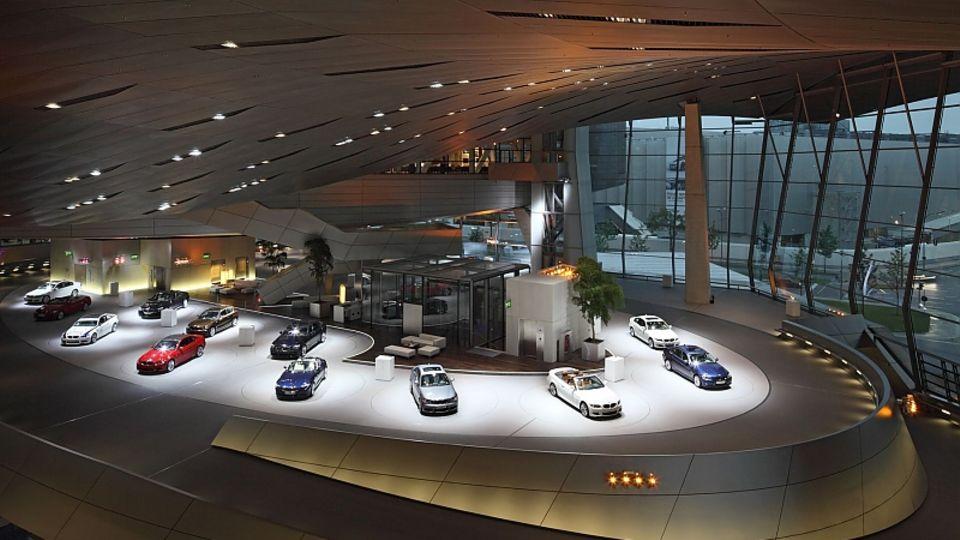 Auslieferungen in der BMW Welt