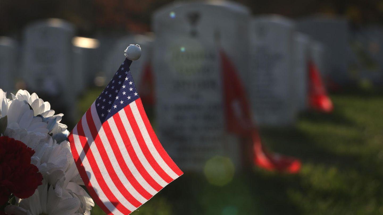 Militärfriedhof in Arlington