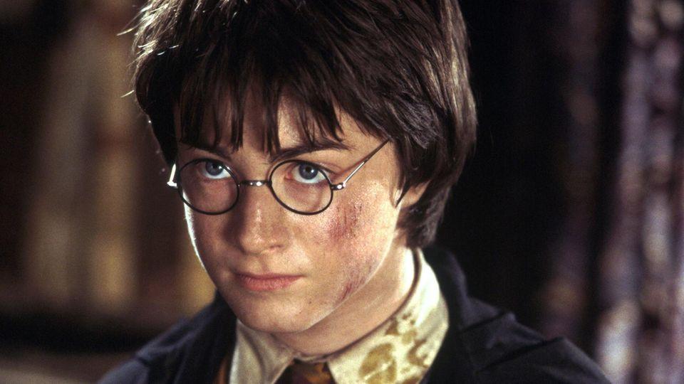 """Daniel Radcliffe im Film """"Harry Potter und die Kammer des Schreckens"""""""