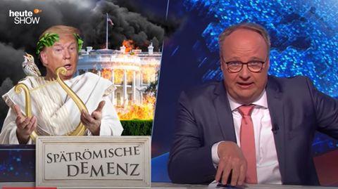"""""""heute show"""" über Trump und Corona"""