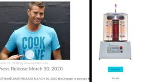 Pete Evans Biocharger