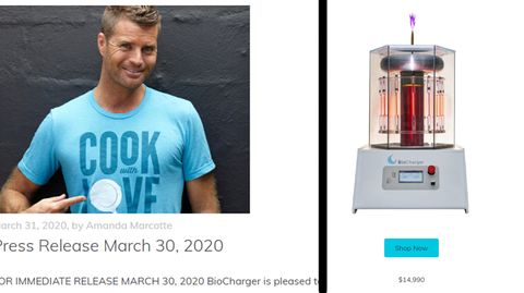 Pete Evans Biocharger