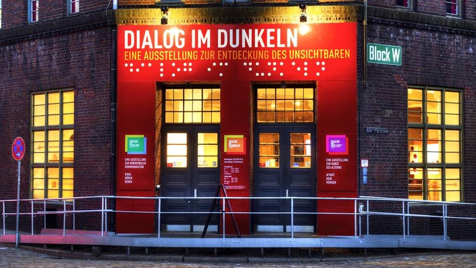 Das rote Backsteingebäude in der Hamburger Speicherstadt