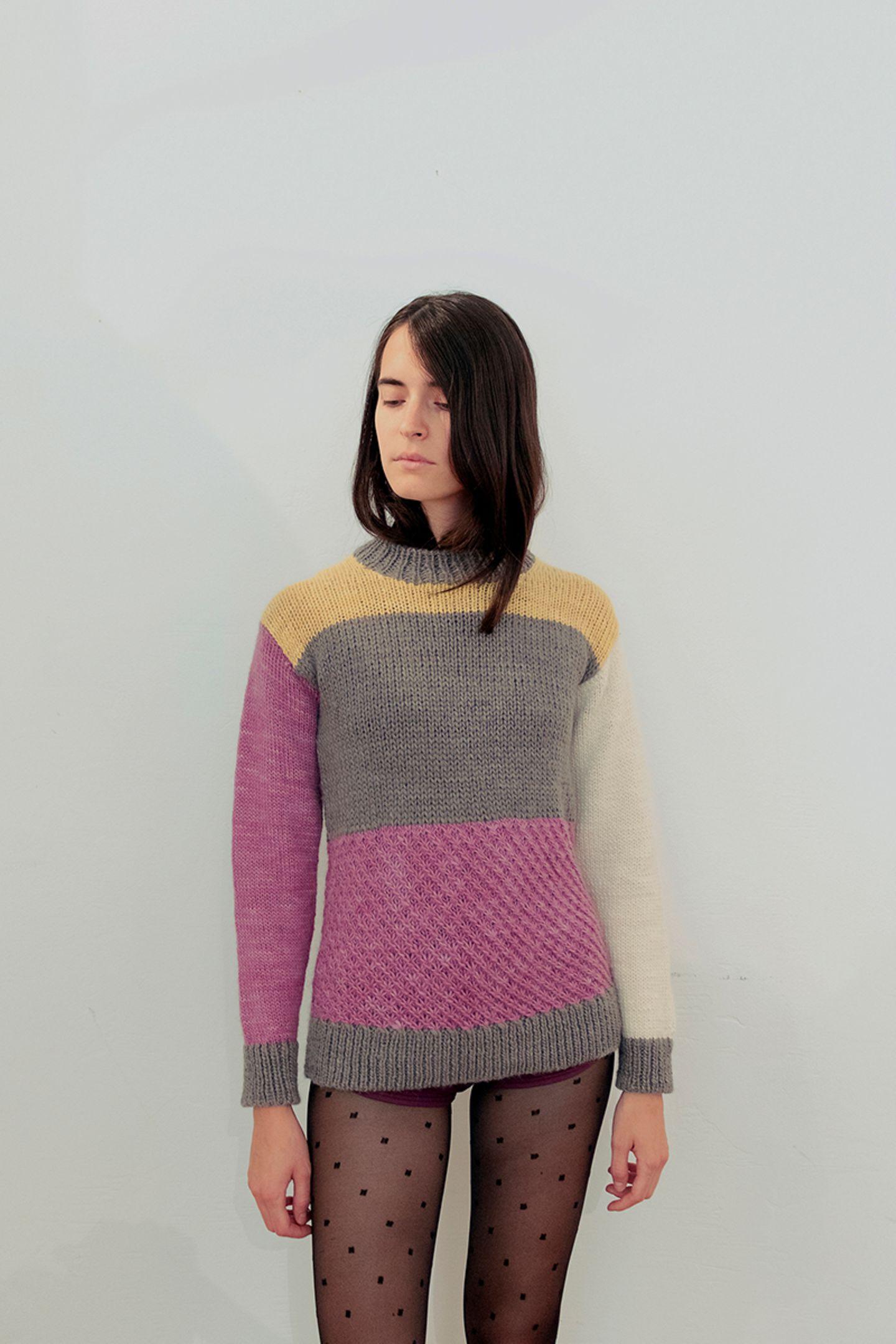 Alpaka-Pullover