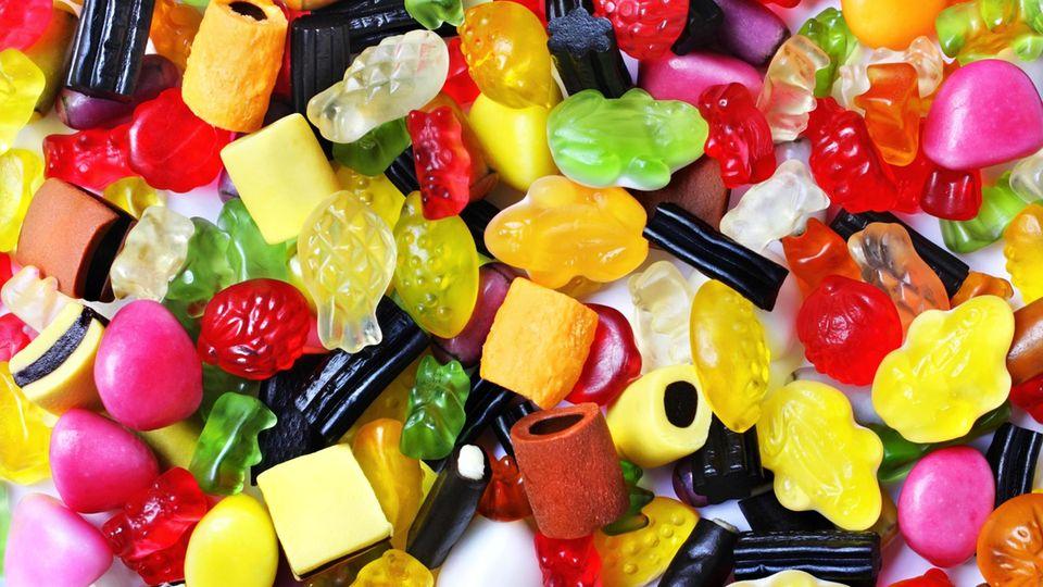 Diverse Süßigkeiten