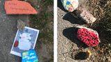 Steinschlange als Zeichen der Gemeinschaft in der Corona-Zeit