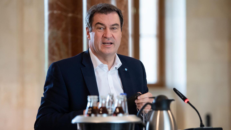 CSU-Chef Markus Söder scheint in diesen Coronawochen in den Medien fast allgegenwärtig
