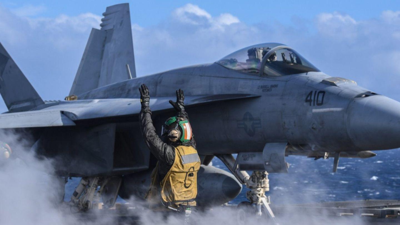 Die Super Hornet ist optimiert für den Einsatz auf Flugzeugträgern.