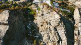 Eine Felswand an der Amalfi-Küste