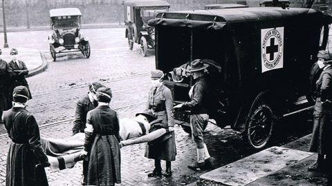 Die Spanische Grippe 1918 war eine der weltweit stärksten Pandemien.