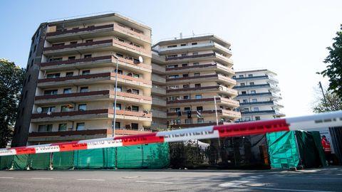 Hochhaus in Grevenbroich wegen Coronavirus unter Quarantäne gestellt
