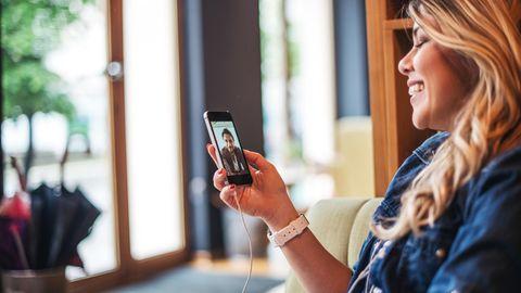 Mit der Corona-Krise boomte die Videotelefonie - und sorgte für den Aufstieg von Diensten wie Zoom und House Party (Symbolbild)
