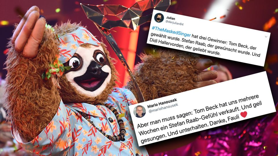"""Das Finale der zweiten Staffel von """"The Masked Singer"""" endet mit einigen Überraschungen – so reagieren Fans auf Twitter."""