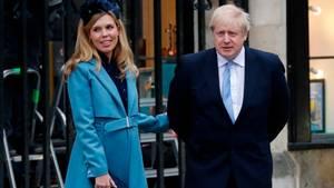 Der britische Premierminister Boris Johnson und seine VerlobteCarrie Symonds sind Eltern geworden